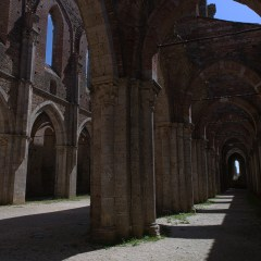 Ruins of Abbey of San Galgano, Tuscany (454F28180)