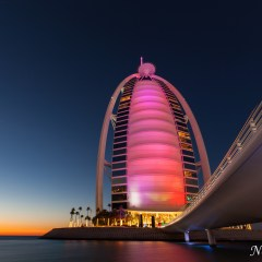 Burj Al Arab Jumeirah at sunset (454F34625)