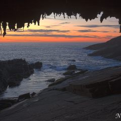 Sunset at Admiral's Arch (454F39337-9)
