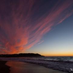 Fire sky sunset at Baker Beach (454F39541)