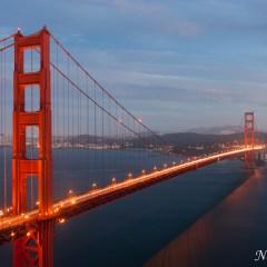 Golden Gate Bridge traffic trails (454F39854)