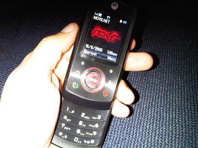 Una dimensiones bastante cómodas - Motorola ROKR EM25