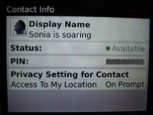 Perfil de contacto