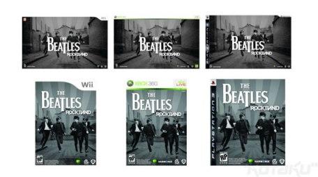 Rockband de Los Beatles para PS3, Xbox 360 y Wii