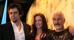 Benicio Del Toro, Emily Blunt y Rick Baker
