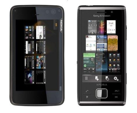 Sony Ericsson XPERIA X2 vs Nokia N900