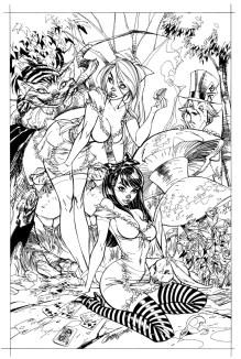 Beyond Wonderland (boceto)