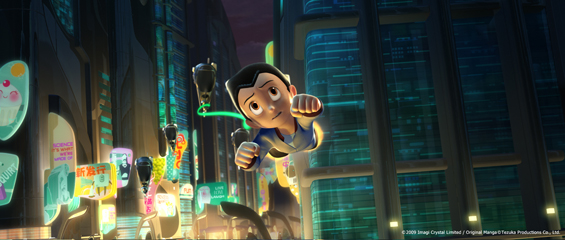 astro boy movie screenshot