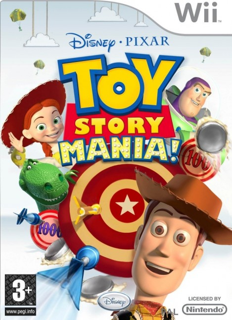 toy story mania wii