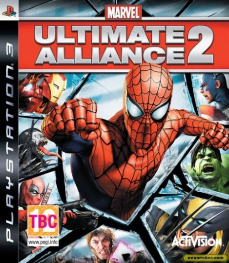 Ultimate Alliance 2 cover
