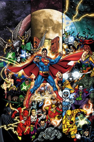 DC Universe - comic art