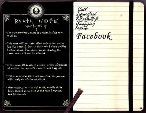 la muerte de facebook