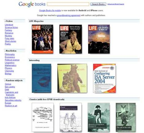 google books screenshot