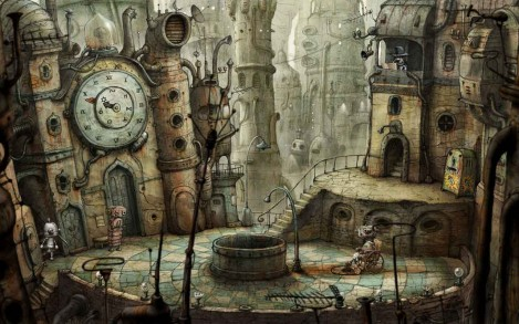 machinarium plaza