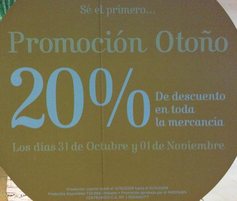 Promoción Beco - 31 octubre y 01 noviembre 2009