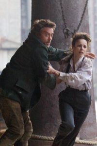 Robert Downey Jr. y Rachel McAdams