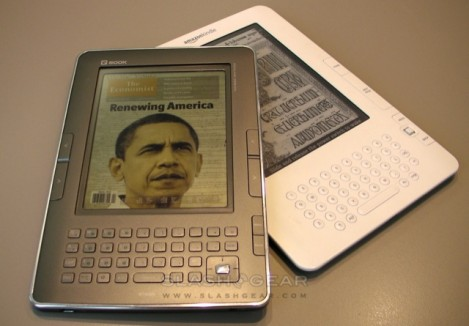 Qualcomm Mirasol ebook reader - prototipo
