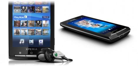 Sony Ericsson Xperia X10a - 3