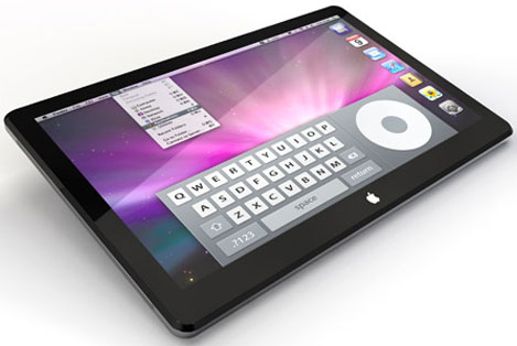 Concepto de Apple Tablet (no oficial)