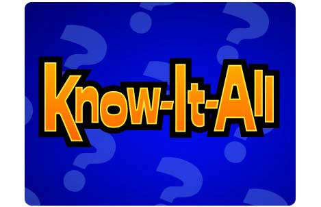 know it all trivia - facebook game