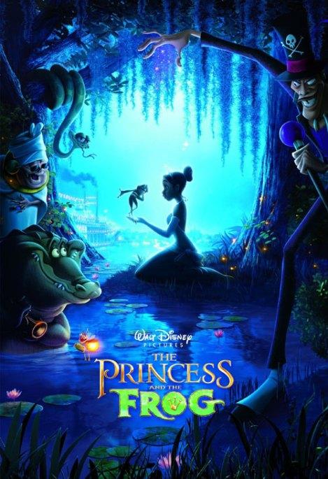 La Princesa y el Sapo poster