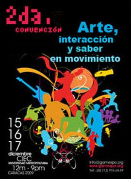 segunda convención gamexpo 2009 poster