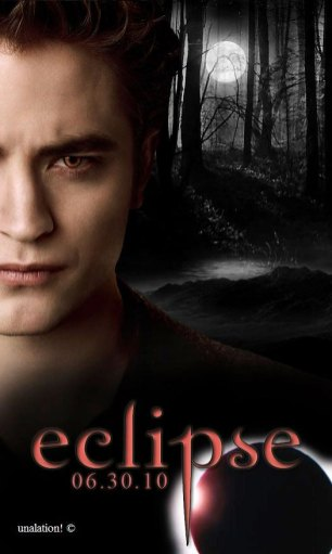 Twilight Eclipse - poster Edward