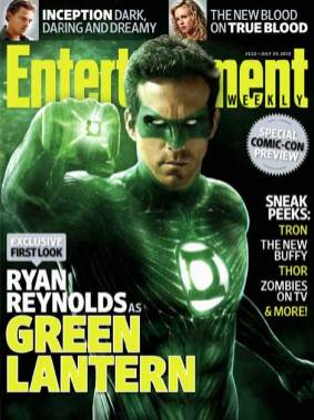 Linterna Verde - Entertainment Weekly 15 July Cover