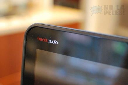 Branding de BeatsAudio en la esquina