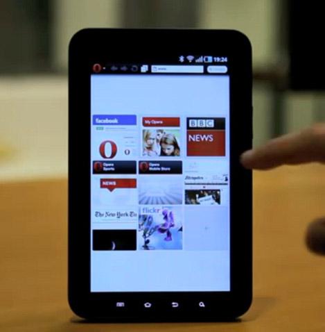 Opera para Tablets
