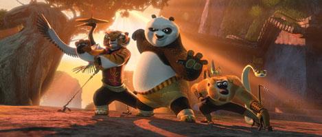 Kung fu panda 2 title