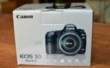 Caja de la Canon 5D Mark II