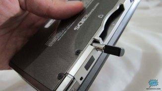 Slot para guardar el stylus