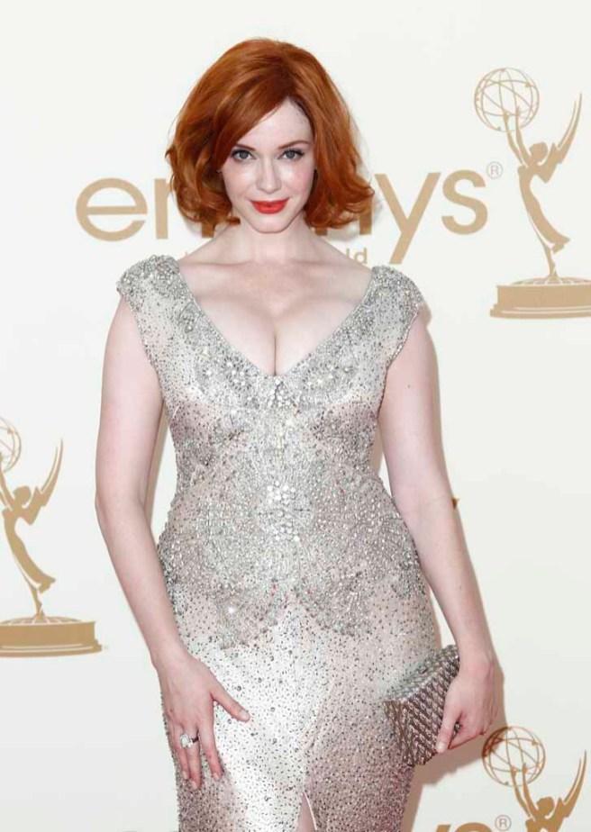 Christina Hendricks - Emmy 2011