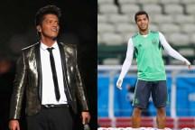 Bruno Mars y Giovani Dos Santos