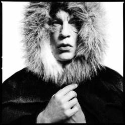 "David Bailey / Mick Jager ""Fur Hood"" (1964)"