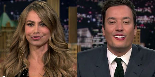 intercambio-labios-Sofia-Vergara-Jimmy-Fallon
