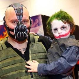 Bane y mini Joker