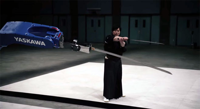 Samurai-Isao-Machii-Robot-Motoman-MH-24