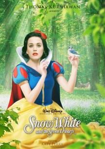 Katy Perry como Blanca Nieves