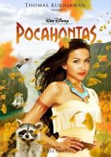 Naya Rivera como Pocahontas