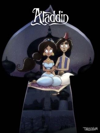 princesas-estilo-tim-burton-aladdin