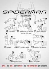 Rutina Spiderman