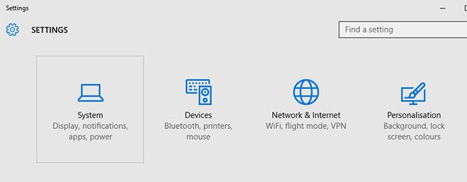 system-settings-windows-10