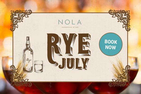 Rye July NOLA Smokehouse and Bar