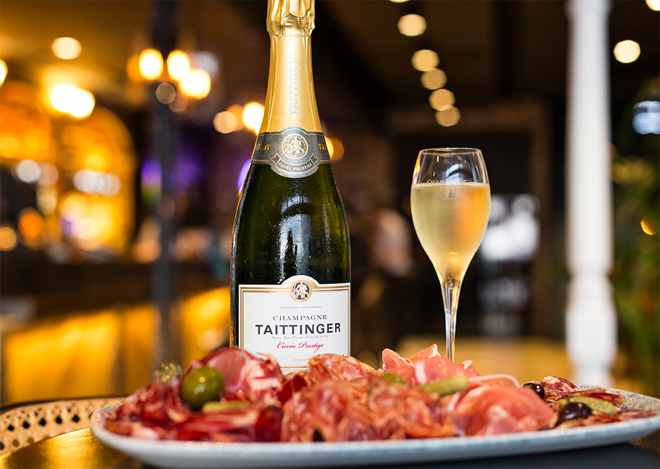 Champagne Charcuterie Taittinger Thursdays NOLA Smokehouse and Bar