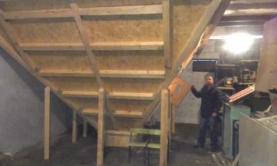 Silos na pelet w piwnicy obok kotłowniu w szkole pod Bydgoszczą