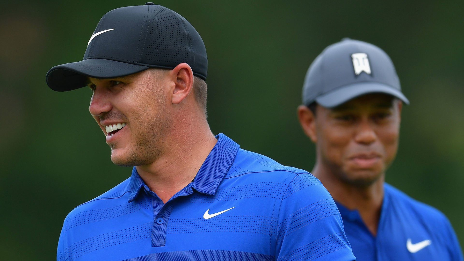 Did Brooks Koepka ghost Tiger Woods ahead of The Open Championship? - NoleGameday