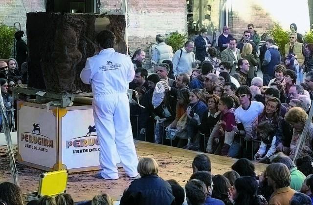 Eurochocolate a Perugia