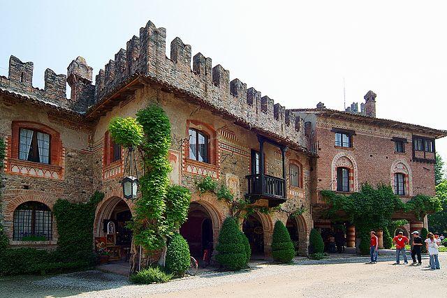 Il castello Visconti a Grazzano Visconti